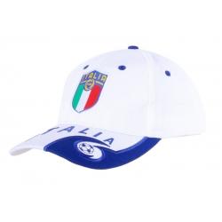 Кепки Италии футбольной сборной (Белый/Синий)