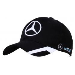 Бейсболки Mercedes Benz (Черный/Белый)