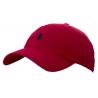 Бейсболки Ральф лурен (Бордовая) кожанный ремешок