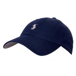 Бейсболки Ральф лурен (Темно синий) кожанный ремешок