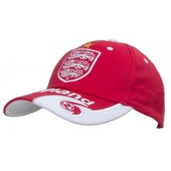 Кепки Англии England Футбольные (Красный/Белый)