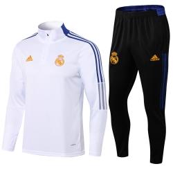 Тренировочные костюм Реал мадрид 2022 2021 (Белый)