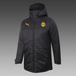 Утепленная куртка зимняя BORUSSIA DORMUND (Черная) 2021 2020