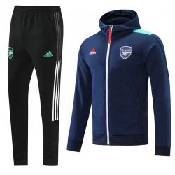 Теплые спортивные костюмы арсенал лондон 2021 (Темно синий)
