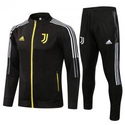 Спортивные костюмы Ювентус 2021 - 2020 (Черный/Желтый)