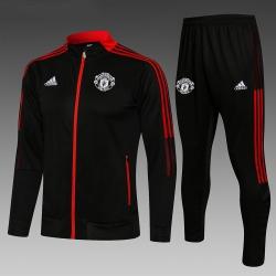 Cпортивные костюмы Манчестер юнайтед 2021 2020 (Черный/Красный)