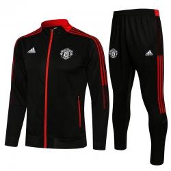 Cпортивные костюмы Манчестер юнайтед v2 2021 2022 (Черный/Красный)