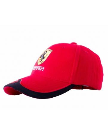 (Красный/Черный) Бейсболки Феррари